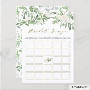 Other - Bridal Bingo Cards (120 pcs)